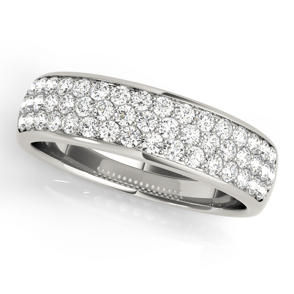 Pave Wedding Band OV50884-W