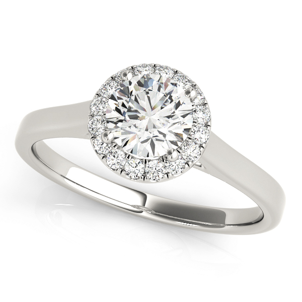 Halo Engagement Ring OV50932-E