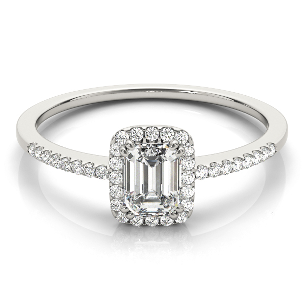 Halo Engagement Ring OV84373