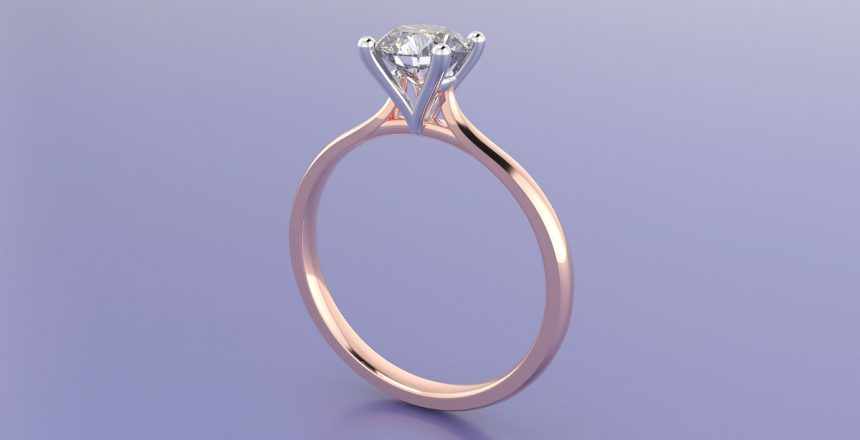Conger's Custom Solitaire Engagement Ring